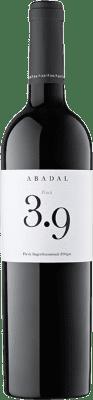26,95 € Free Shipping | Red wine Masies d'Avinyó Abadal 3.9 Reserva D.O. Pla de Bages Catalonia Spain Syrah, Cabernet Sauvignon Bottle 75 cl