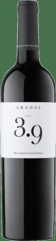 21,95 € Envío gratis | Vino tinto Masies d'Avinyó Abadal 3.9 Reserva D.O. Pla de Bages Cataluña España Syrah, Cabernet Sauvignon Botella 75 cl