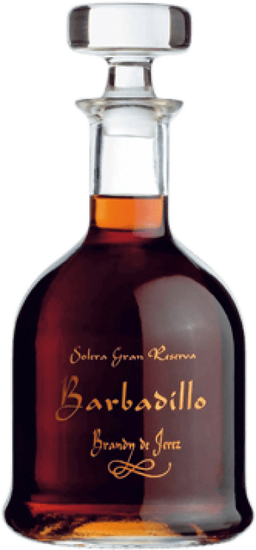 59,95 € Free Shipping | Brandy Barbadillo Gran Reserva Spain Bottle 70 cl
