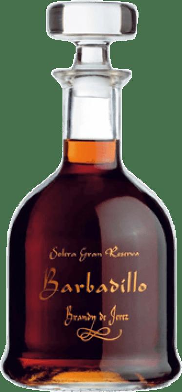 52,95 € Free Shipping | Brandy Barbadillo Gran Reserva Spain Bottle 70 cl