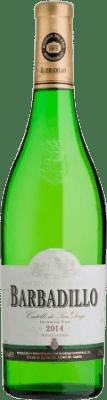 12,95 € Free Shipping | White wine Barbadillo Castillo San Diego Joven I.G.P. Vino de la Tierra de Cádiz Andalucía y Extremadura Spain Palomino Fino Magnum Bottle 1,5 L