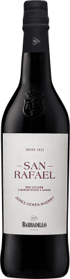 15,95 € Free Shipping | Fortified wine Barbadillo San Rafael Oloroso D.O. Jerez-Xérès-Sherry Andalucía y Extremadura Spain Palomino Fino Bottle 75 cl | Thousands of wine lovers trust us to get the best price guarantee, free shipping always and hassle-free shopping and returns.