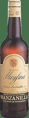 4,95 € Kostenloser Versand | Verstärkter Wein Barbadillo My Fina D.O. Manzanilla-Sanlúcar de Barrameda Andalucía y Extremadura Spanien Palomino Fino Flasche 75 cl