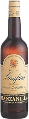 6,95 € Envio grátis | Vinho fortificado Barbadillo My Fina D.O. Manzanilla-Sanlúcar de Barrameda Andalucía y Extremadura Espanha Palomino Fino Garrafa 75 cl