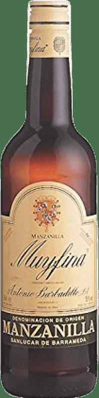 5,95 € Free Shipping | Fortified wine Barbadillo My Fina D.O. Manzanilla-Sanlúcar de Barrameda Andalucía y Extremadura Spain Palomino Fino Bottle 75 cl