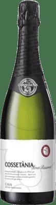 5,95 € Kostenloser Versand | Weißer Sekt Castell d'Or Cossetània Brut Reserva D.O. Cava Katalonien Spanien Macabeo, Xarel·lo, Parellada Flasche 75 cl