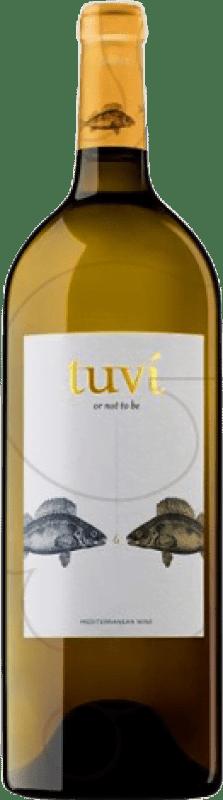 15,95 € Free Shipping | White wine Sumarroca Tuví Joven D.O. Penedès Catalonia Spain Viognier, Xarel·lo, Gewürztraminer, Riesling Magnum Bottle 1,5 L
