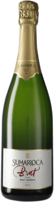 7,95 € Kostenloser Versand | Weißer Sekt Sumarroca Brut Reserva D.O. Cava Katalonien Spanien Macabeo, Xarel·lo, Chardonnay, Parellada Flasche 75 cl
