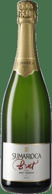 8,95 € Free Shipping | White sparkling Sumarroca Brut Reserva D.O. Cava Catalonia Spain Macabeo, Xarel·lo, Chardonnay, Parellada Bottle 75 cl