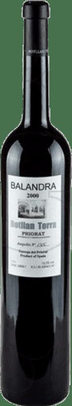 29,95 € Envío gratis | Vino tinto Rotllan Torra Balandra Reserva D.O.Ca. Priorat Cataluña España Garnacha, Cabernet Sauvignon, Mazuelo, Cariñena Botella Mágnum 1,5 L