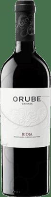 16,95 € Free Shipping | Red wine Solar Viejo Orube Crianza D.O.Ca. Rioja The Rioja Spain Tempranillo, Grenache, Graciano Magnum Bottle 1,5 L
