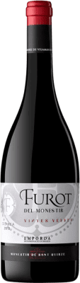 9,95 € Free Shipping | Red wine Oliveda Furot Crianza D.O. Empordà Catalonia Spain Mazuelo, Carignan Bottle 75 cl