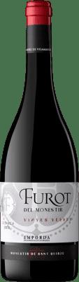 8,95 € Kostenloser Versand | Rotwein Oliveda Furot Crianza D.O. Empordà Katalonien Spanien Mazuelo, Carignan Flasche 75 cl