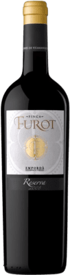 12,95 € Kostenloser Versand | Rotwein Oliveda Furot Reserva D.O. Empordà Katalonien Spanien Merlot, Grenache, Cabernet Sauvignon Flasche 75 cl