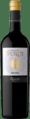 12,95 € Envío gratis | Vino tinto Oliveda Furot Reserva D.O. Empordà Cataluña España Merlot, Garnacha, Cabernet Sauvignon Botella 75 cl
