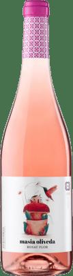 3,95 € Kostenloser Versand | Rosé-Wein Oliveda Masía Joven D.O. Empordà Katalonien Spanien Grenache, Cabernet Sauvignon, Mazuelo, Carignan Flasche 75 cl