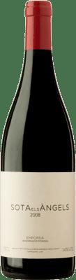 46,95 € Free Shipping | Red wine Sota els Àngels 2008 D.O. Empordà Catalonia Spain Merlot, Syrah, Cabernet Sauvignon, Mazuelo, Carignan, Carmenère Bottle 75 cl