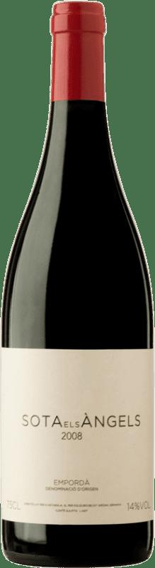 39,95 € Free Shipping | Red wine Sota els Àngels D.O. Empordà Catalonia Spain Merlot, Syrah, Cabernet Sauvignon, Mazuelo, Carignan, Carmenère Bottle 75 cl