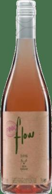 9,95 € Kostenloser Versand | Rosé-Wein Sota els Àngels Flow Joven D.O. Empordà Katalonien Spanien Merlot, Syrah, Mazuelo, Carignan Flasche 75 cl