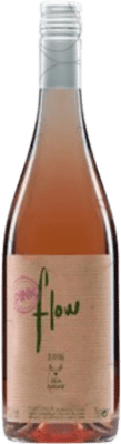 9,95 € Free Shipping | Rosé wine Sota els Àngels Flow Joven D.O. Empordà Catalonia Spain Merlot, Syrah, Mazuelo, Carignan Bottle 75 cl