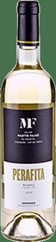 9,95 € Envío gratis | Vino blanco Martín Faixó Perafita Joven D.O. Empordà Cataluña España Picapoll Botella 75 cl