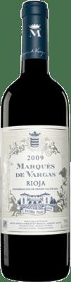 36,95 € Envío gratis | Vino tinto Marqués de Vargas Reserva D.O.Ca. Rioja La Rioja España Tempranillo, Garnacha, Mazuelo, Cariñena Botella Mágnum 1,5 L