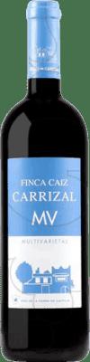 6,95 € Free Shipping | Red wine Dehesa del Carrizal Finca Caiz MV Crianza I.G.P. Vino de la Tierra de Castilla Castilla la Mancha y Madrid Spain Tempranillo, Merlot, Syrah, Cabernet Sauvignon, Petit Verdot Bottle 75 cl