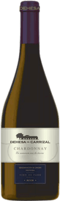 9,95 € Envío gratis | Vino blanco Dehesa del Carrizal Crianza D.O.P. Vino de Pago Dehesa del Carrizal Castilla la Mancha y Madrid España Chardonnay Botella 75 cl
