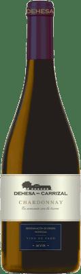 12,95 € Free Shipping | White wine Dehesa del Carrizal Crianza D.O.P. Vino de Pago Dehesa del Carrizal Castilla la Mancha y Madrid Spain Chardonnay Bottle 75 cl