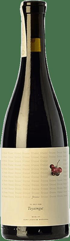 8,95 € Envoi gratuit | Vin rouge Tayaimgut Frsssc Crianza Catalogne Espagne Merlot Bouteille 75 cl