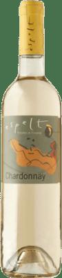 8,95 € Free Shipping | White wine Espelt Joven D.O. Empordà Catalonia Spain Chardonnay Bottle 75 cl