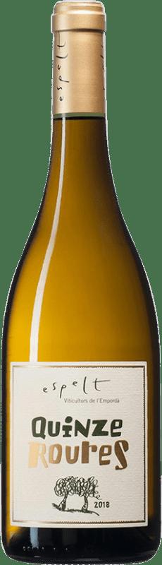 9,95 € Free Shipping   White wine Espelt Quinze Roures Crianza D.O. Empordà Catalonia Spain Grenache White, Grenache Grey Bottle 75 cl
