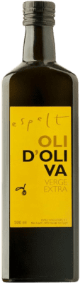 8,95 € Free Shipping | Cooking Oil Espelt Spain Half Bottle 50 cl