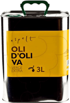 26,95 € Free Shipping | Cooking Oil Espelt Spain Lata 3 L