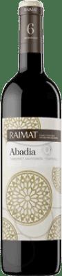 5,95 € Free Shipping | Red wine Raimat Clos Abadia Crianza D.O. Costers del Segre Catalonia Spain Tempranillo, Cabernet Sauvignon Half Bottle 50 cl
