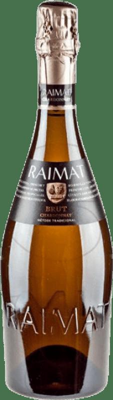12,95 € Envoi gratuit | Blanc moussant Raimat Brut Reserva D.O. Costers del Segre Catalogne Espagne Pinot Noir, Chardonnay Bouteille 75 cl