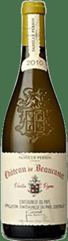 109,95 € Free Shipping   White wine Château Beaucastel Crianza Otras A.O.C. Francia France Viognier, Marsanne, Bourboulenc, Clairette Blanche, Picardan Bottle 75 cl