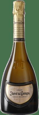 29,95 € Envoi gratuit | Blanc mousseux Juvé y Camps Gran Juve Brut Nature Grand vin de Réserve D.O. Cava Catalogne Espagne Macabeo, Xarel·lo, Chardonnay, Parellada Bouteille 75 cl