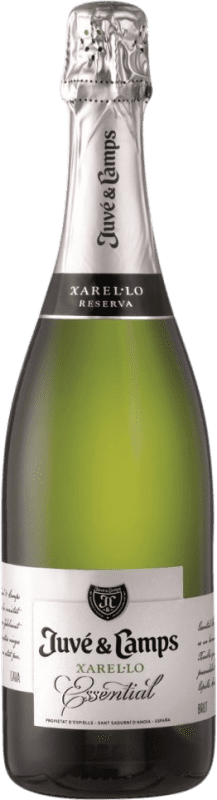 11,95 € Free Shipping | White sparkling Juvé y Camps Brut Reserva D.O. Cava Catalonia Spain Xarel·lo Bottle 75 cl