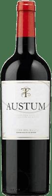 7,95 € Free Shipping | Red wine Tionio Austum D.O. Ribera del Duero Castilla y León Spain Tempranillo Half Bottle 50 cl