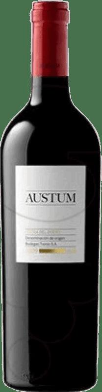 9,95 € Envoi gratuit | Vin rouge Tionio Austum Crianza D.O. Ribera del Duero Castille et Leon Espagne Tempranillo Bouteille 75 cl