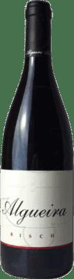 46,95 € Free Shipping | Red wine Algueira Risco Crianza D.O. Ribeira Sacra Galicia Spain Merenzao Bottle 75 cl