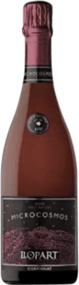 16,95 € Free Shipping | Rosé sparkling Llopart Microcosmos Brut Nature Reserva D.O. Cava Catalonia Spain Monastrell, Pinot Black Bottle 75 cl | Thousands of wine lovers trust us to get the best price guarantee, free shipping always and hassle-free shopping and returns.