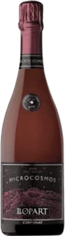 18,95 € Free Shipping | Rosé sparkling Llopart Microcosmos Brut Nature Reserva D.O. Cava Catalonia Spain Monastrell, Pinot Black Bottle 75 cl