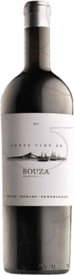 48,95 € Free Shipping | Red wine Bouza Monte Vide Eu Uruguay Tempranillo, Merlot, Tannat Bottle 75 cl