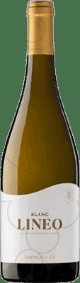 7,95 € Free Shipping | White wine Pedregosa Lineo Joven D.O. Penedès Catalonia Spain Xarel·lo, Chardonnay Bottle 75 cl