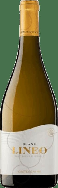 14,95 € Free Shipping | White wine Pedregosa Lineo Joven D.O. Penedès Catalonia Spain Magnum Bottle 1,5 L