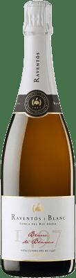 14,95 € Free Shipping | White sparkling Raventós i Blanc Blanc de Blancs Brut Reserva Catalonia Spain Macabeo, Xarel·lo, Chardonnay, Parellada Bottle 75 cl