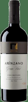 88,95 € Free Shipping | Red wine Arínzano Gran Vino D.O.P. Vino de Pago de Arínzano Navarre Spain Tempranillo, Merlot Bottle 75 cl