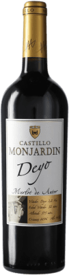 11,95 € Free Shipping | Red wine Castillo de Monjardín Deyo Crianza D.O. Navarra Navarre Spain Merlot Bottle 75 cl